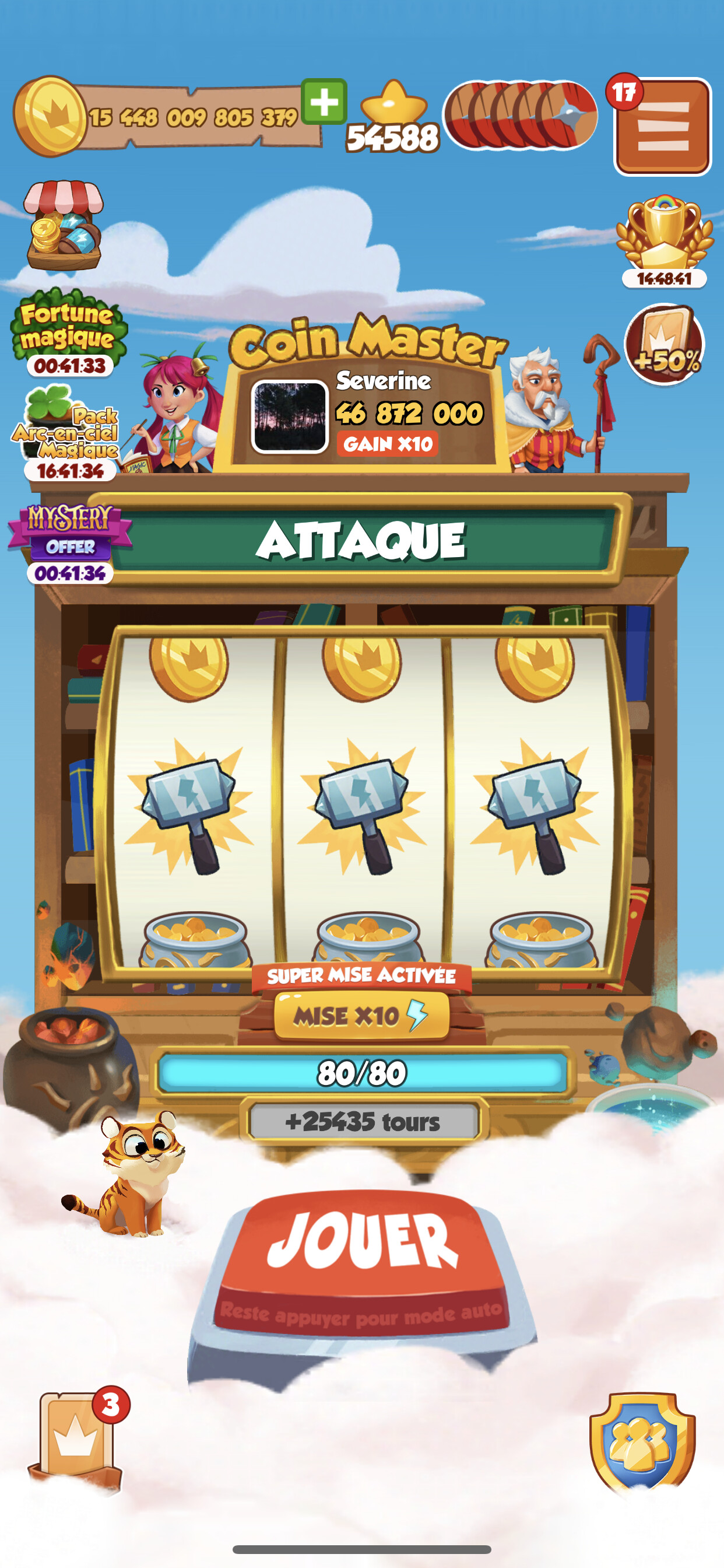 coin master gold trade event heute
